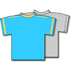 Cillit Bang FC Team Kit - Blue and Grey