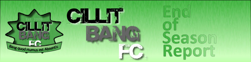 Cillit Bang FC End of Season Report Banner